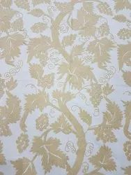 Hand Embroidered Graph design Curtain Fabric