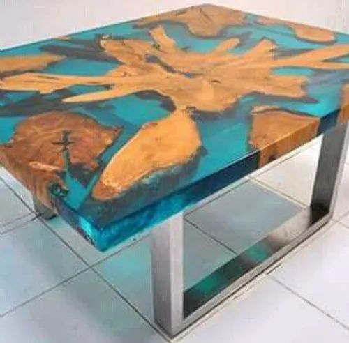 Table Top Clear Epoxy Resin