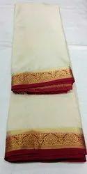 Party Wear OSP Brand Plain Colour Mysore Silk Saree with Blouse Material