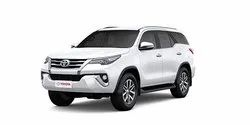 SUV Outstation Trip Toyota Fortuner Rental, Days: 1