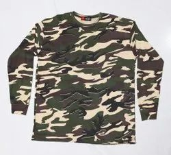 Indian Army Design T-Shirt For Men