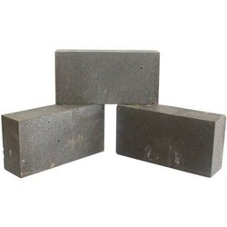Fire Resistant Gray Rectangular Magnesite Refractory Bricks, Size: 9 In. X 3 In. X 2 In