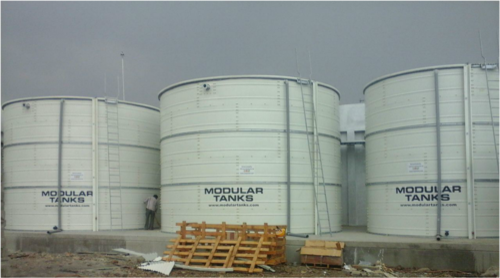 Steel Water Tanks