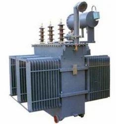 NJA Oil Cooled Three Phase Industrial Distribution Transformer, Capacity: 500KVA