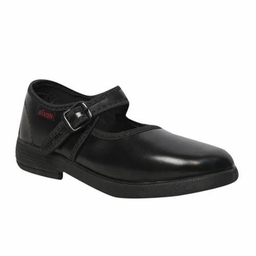 Afson Black Plain School Shoes 8d0f9ac4e