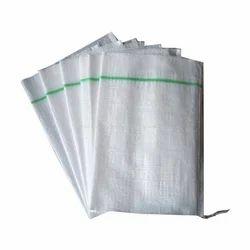 White PP Woven Sack Bag