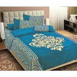 Blue Chenille Double Bedsheet