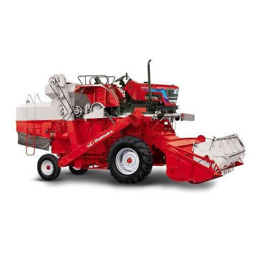 Mahindra Tractor Mounted Combine Harvester 2WD