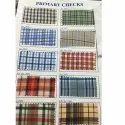Primary Checks Uniform Fabric