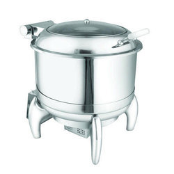 Stainless Steel Round Soup Chafer