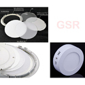 Round Square Surface Mount Light 6w Kit Led Panel Downlight