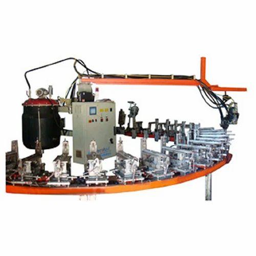 Polyurethane Machine For Safety Shoe Soles