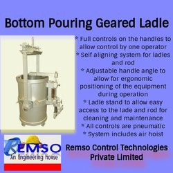Bottom Pouring Geared Ladle