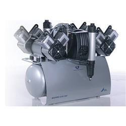 Quattro Tandem Dental Air Compressor