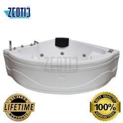 Perlita Corner Jacuzzi Massage Bathtub