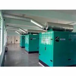 Generator Exhaust Pipe Line