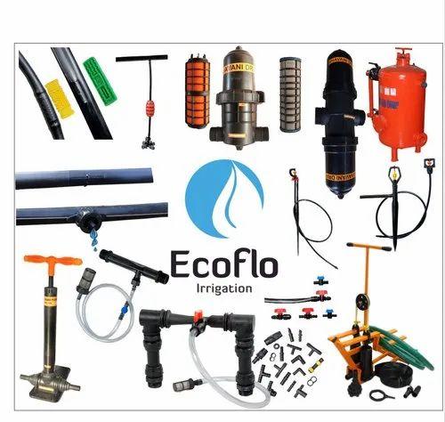 Ecoflo Flat Thin Wall Drip Irrigation Kits