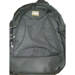 105d027738feb Black Cotton Fabric Leviya College Bag