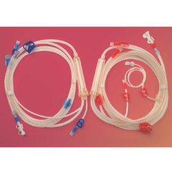 Disposable Hemodialysis Blood Tubing Set Post Pump
