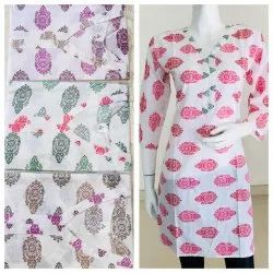 Printed Straight Cotton Kurti
