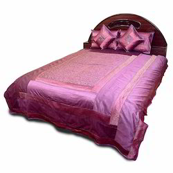 5 Piece Silk Double Bedspread Bed Cover 202