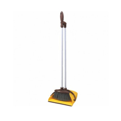 Moving Dust Pan With Broom