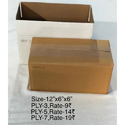Nbm White , Brown Courier Corrugated Box