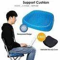 Seat Cushion Comfort Blue Design Gel Pad