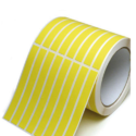 Yellow Self Adhesive Label