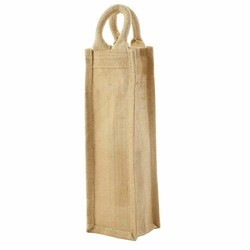Water Bottle Jute Bag