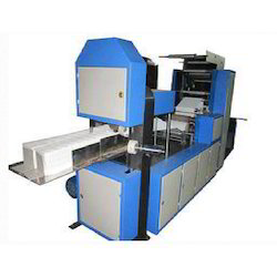 Single Embossing Paper Napkin Making Machine