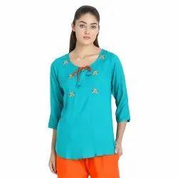 Rayon Dori Embroidery Top
