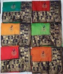 Party Wear Rohit Sana Saree, 5.2 m (separate blouse piece)