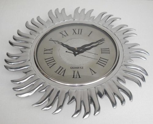 Analog Aluminum Wall Clock