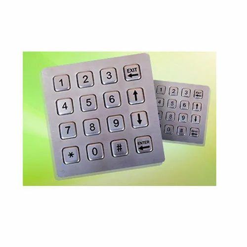4x4 Metallic Keyboard