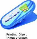 Blue Plastic Paper Clip