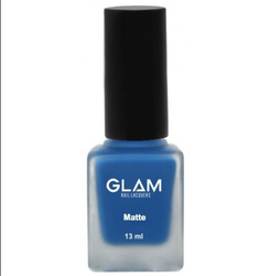 Galm Blue Glam Mattelorious Nail Polish, Pack Size: 13ml