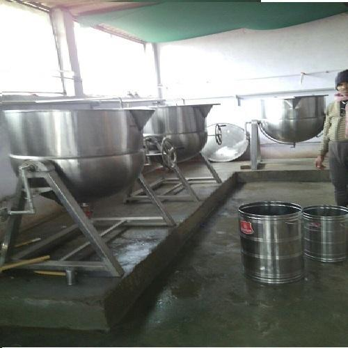 Commercial Ss Steam Jacketed Kettles