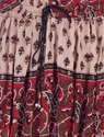 Handicraft-Palace Women Rayon and Bandhej / Bandhani Designs Hand Print Skirt/Lahenga