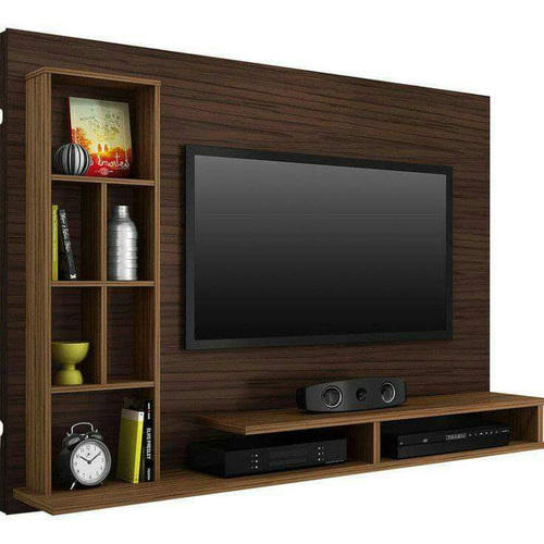 Living Room Cabinet Design In India: TV Cabinet Wooden Wardrobe, Thickness: 10-15 Mm, Rs 15000