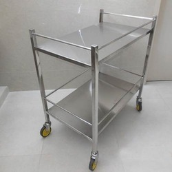 SS Kitchen Equipment Platform Trolley