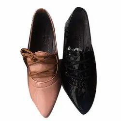 Party Wear PU Leather(Upper) Ladies Fine Style Formal Shoes