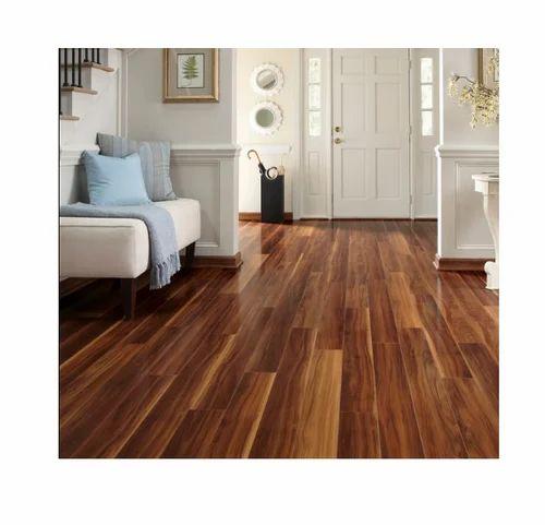 Brown Wooden Laminated Flooring, Brown Laminate Flooring
