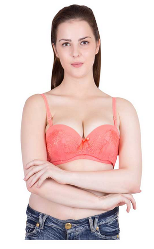 3900bf1a8cd American-Elm Women Orange Wired Padded Strapless Bra at Rs 319 ...