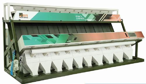 Tri Chromatic Color Sorter 10 Chute