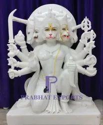 Sitting Panchmukhi Hanuman Statue