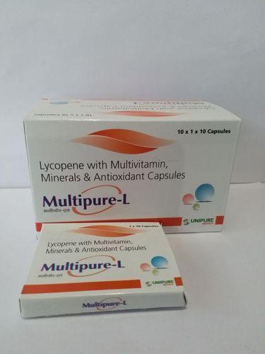 Lycopene Vitamin A Vitamin C Selenium Dioxide Zinc Tablets