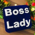 Boss Lady Name Clutch