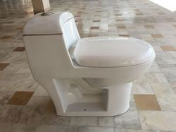 Vistaar White Toilet Seat