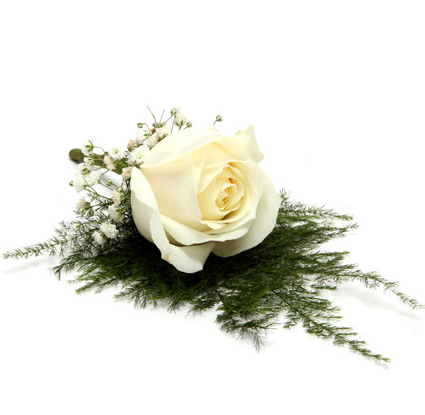 Fresh Flower White Lapel Pin At Rs 379 Piece Fresh Flower Id